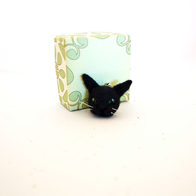 Black cat brooch  - product images  of