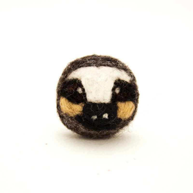 Needle felted sloth brooch jewelry  - product images  of