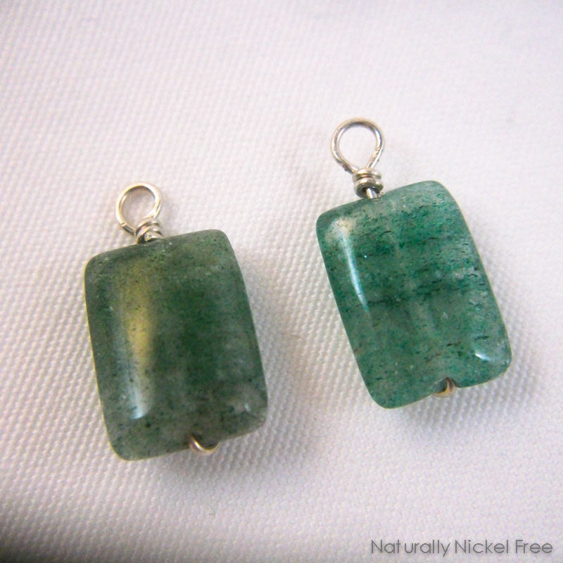 Green Indian Aventurine Add-on Earring Dangles - product images  of
