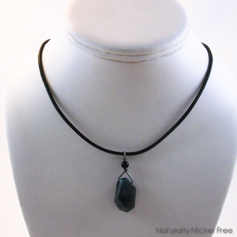 Brazilian Apatite Cord Necklace