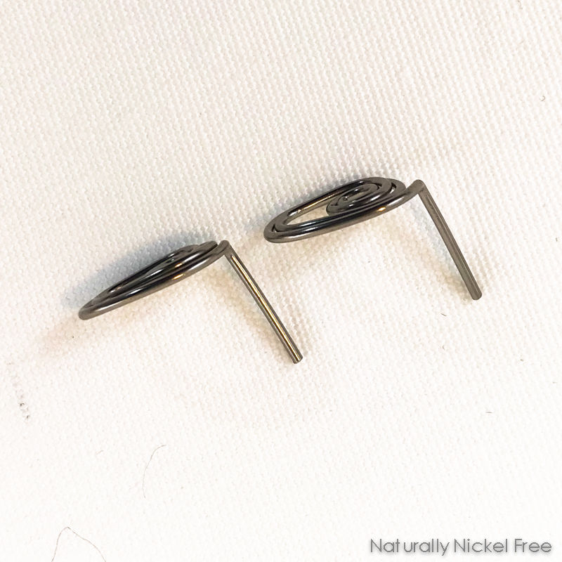 "Niobium ""Seedling"" Post Earrings, Choose Your Color - product images  of"