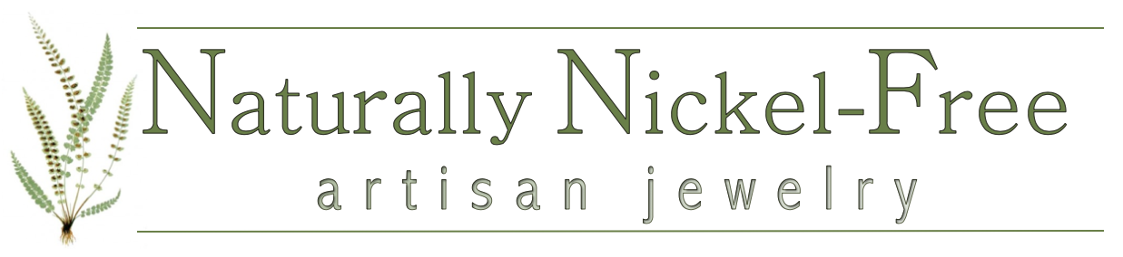 Naturally Nickel Free - jewelry for sensitive skin