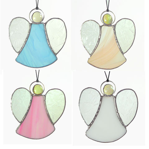 Small stained-glass angel suncatcher - product images  of