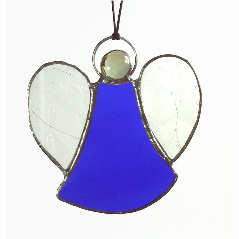 Small Stained Gl Angel Suncatcher Product Images Of