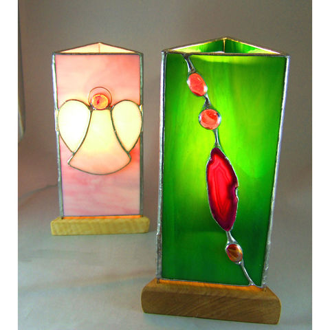 Stained-Glass handmade lamps - product images  of