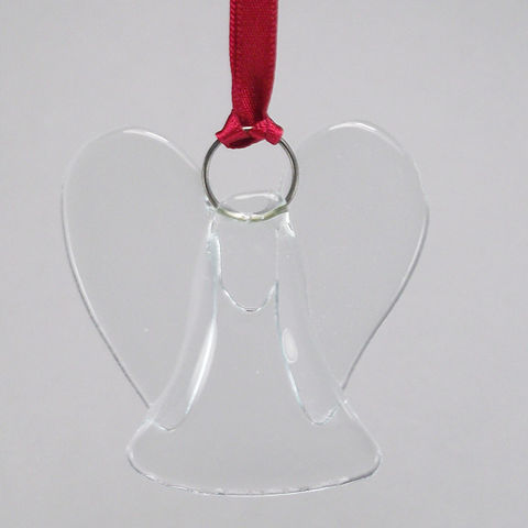 Mini fused-glass angel suncatcher - product images  of