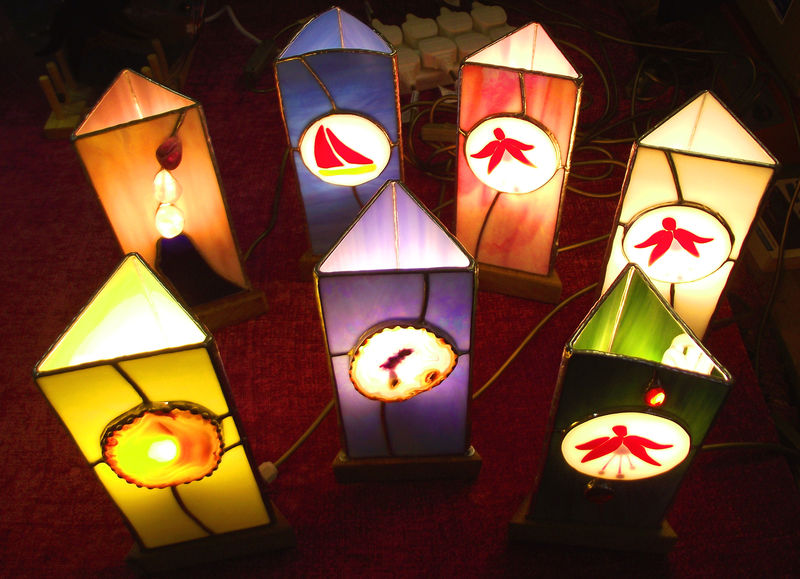 Image result for handmade lamps