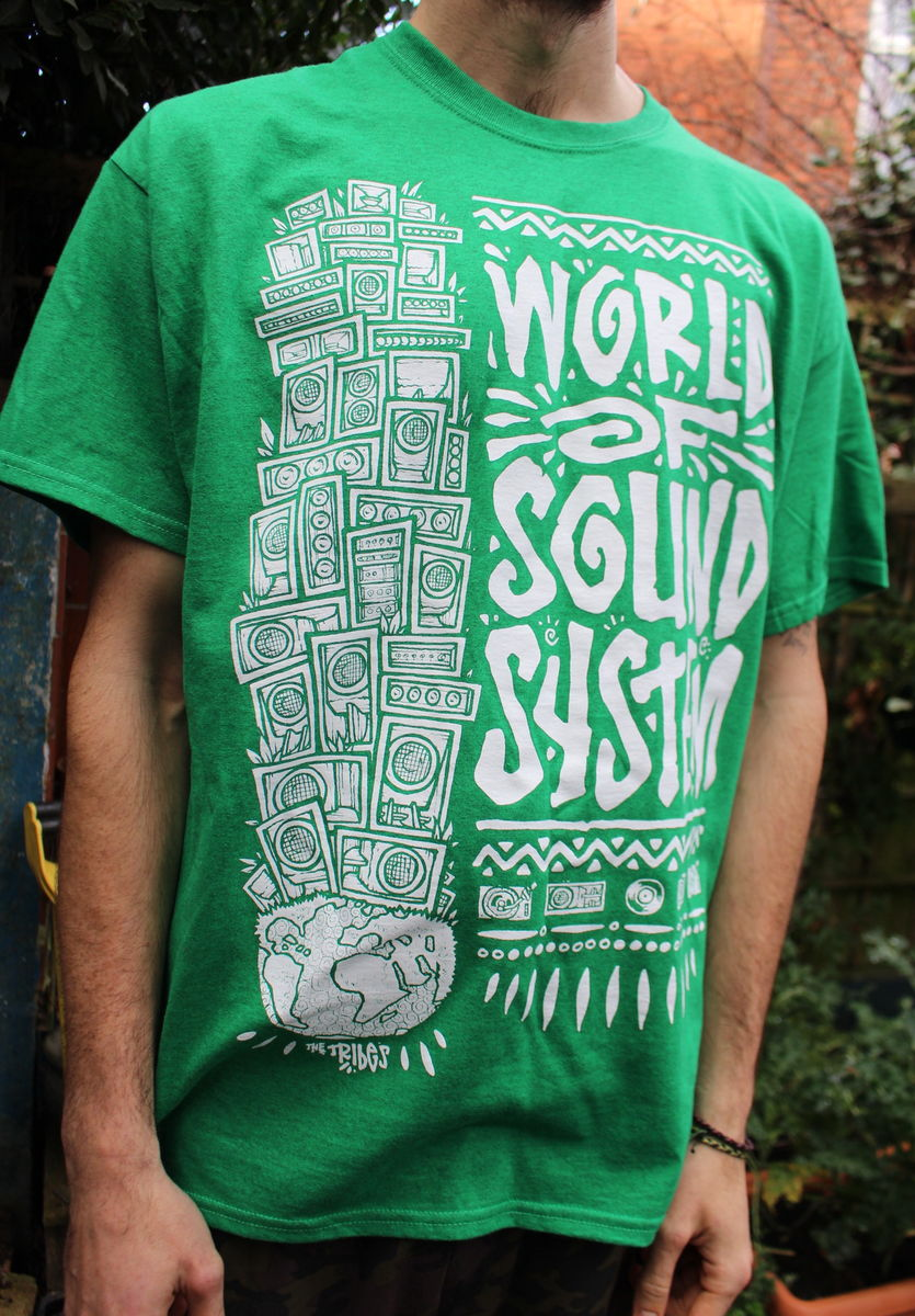 World of SoundSystem Tees - GREEN - product image