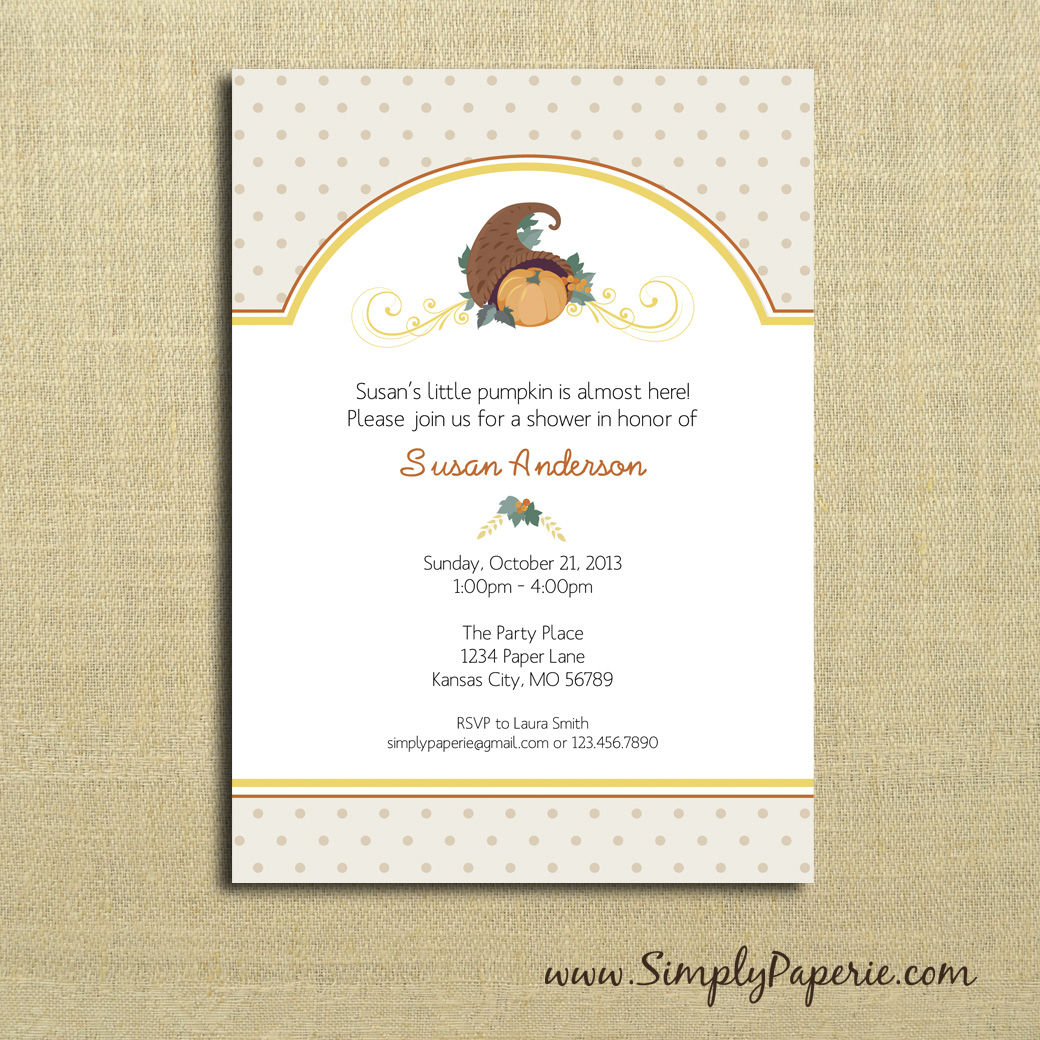 Baby Shower Collection - Simply Paperie