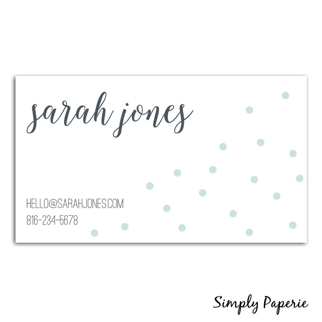 Business Cards Collection - Simply Paperie