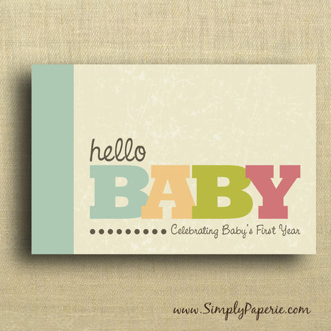 Hello,Baby!,Celebrating,Baby's,First,Year,baby book, babys first year, celebrity new mom, photo book, memory book, scrapbook, bright, colorful, celebrity gifting, Beyonce, Jessica Simpson, Molly Sims, Jessica Alba, Uma Thurman, Maggie Gyllenhaal, Sienna Miller, Kourtney Kardashian, Hilary Duff