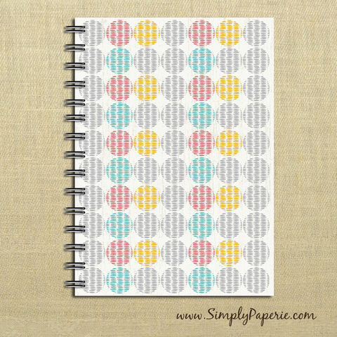 Circle,Print,Weekly,Planner,Weekly Planner, Calendar, month, monthly, academic, year, school, planner, 2016, 2015, modern, distressed, circle pattern, pink, teal, aqua, yellow, grey, tan, trendy, The Artisan Group, journal, notebook, book