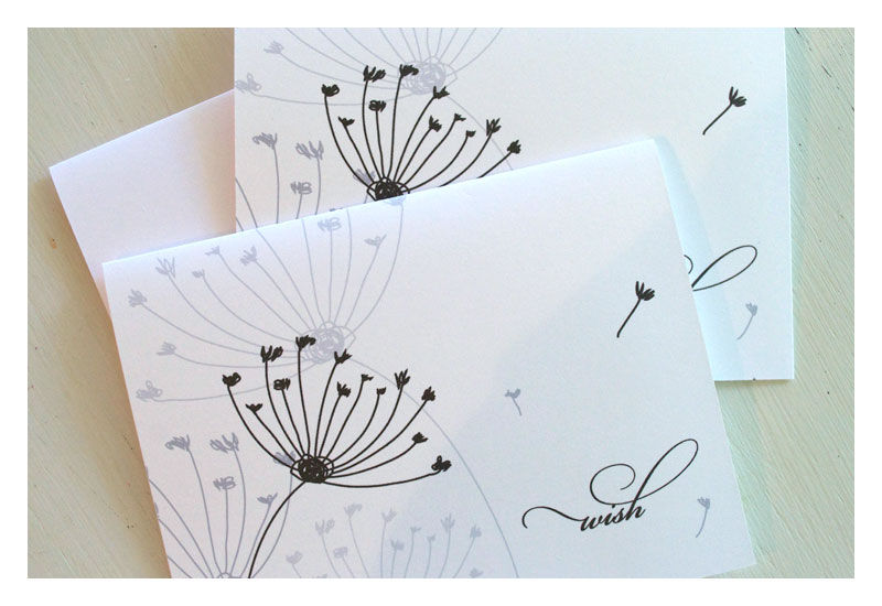 Wish Designer Note Card Statationery Set - product images  of