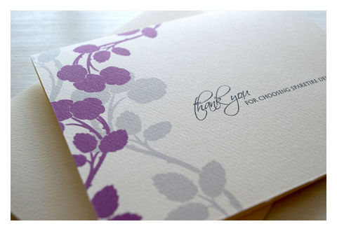 Stationery,Note,Card,Set,Apple,Blossom,Design,:,Personalized,Purple,Paper_Goods,personal_notes,stationery_set,note_cards,pattern,apple blossom, flowers, tree,gray,the_artisan_group,sparetire_design,branch and flower pattern, purple,Quality_paper,linen_paper,crest_paper,felt_paper