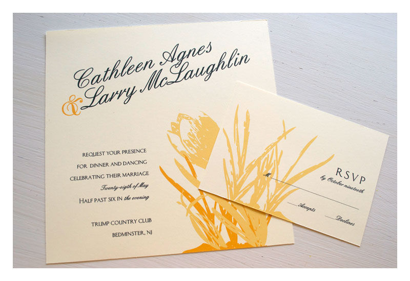 Spring Flower Wedding Invitations - product images  of