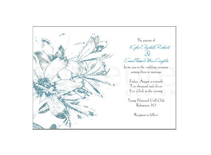 Amaryllis Flower Stationery Design - product images