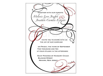 Crazy,in,Love,Flourish,Design,Stationery,bold, romantic, flourish, flourish frame, note cards, flat notes, half sheet stationery, invitations, party invites, shower invites, save the dates, thank you notes, wedding invites, wedding invitations, wedding day stationery