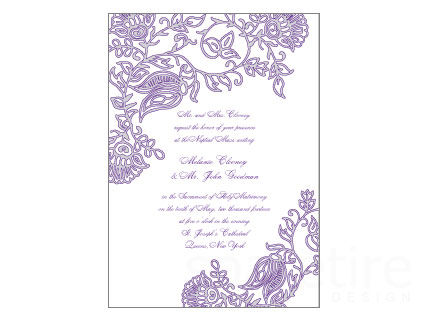 Henna Print Stationery Design - product images
