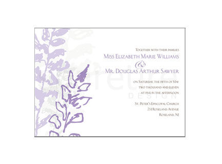 Lavender Stationery Design - product images