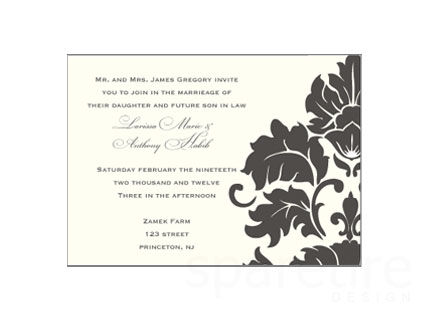 Traditional,Damask,Stationery,Design,damask, damask design, simple, elegant, traditional, note cards, flat notes, half sheet stationery, invitations, party invites, shower invites, save the dates, thank you notes, wedding invites, wedding invitations, wedding day sta