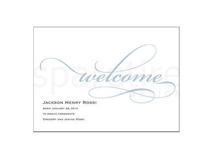 Welcome Stationery Design - product images
