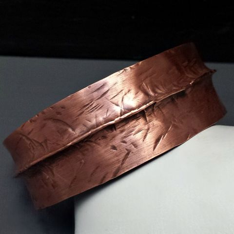 Copper,Folded,Bracelet,Cuff,patina, brass cuff, bangle, stacking bracelets, patina jewelry