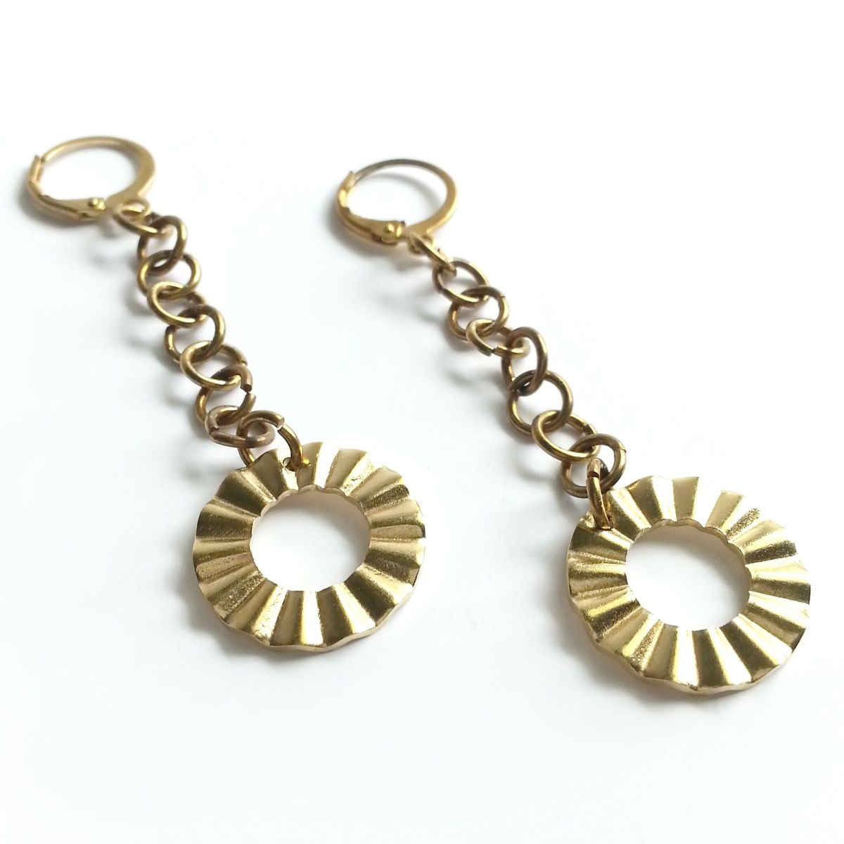 Ruffle Dangle Earrings - product image
