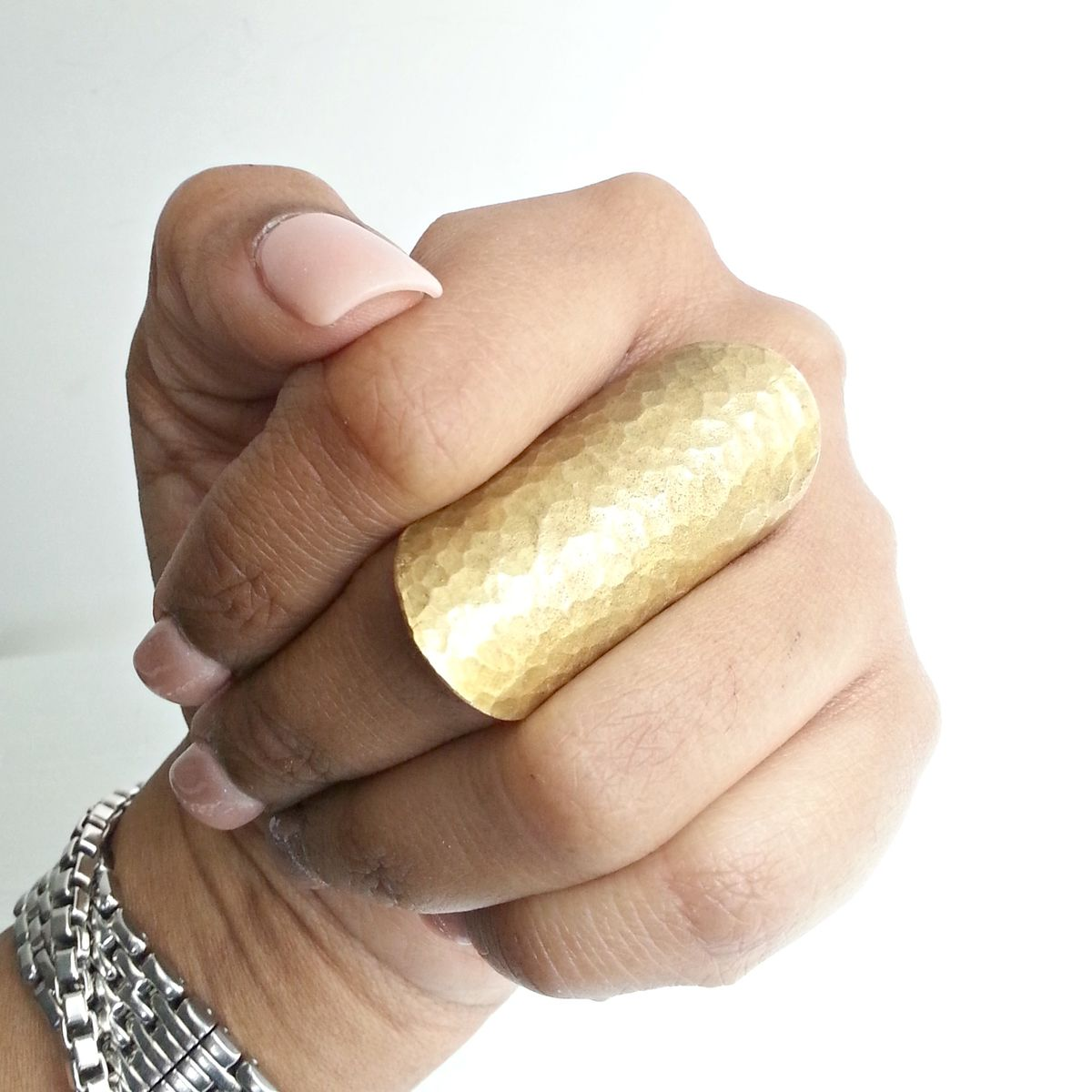 Tall Hammer Texture Armor Ring - product images  of