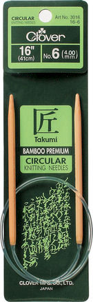 Takumi Bamboo Knitting Needles Circular (16 INCH) - product images