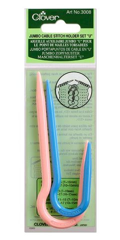 Jumbo,Cable,Stitch,Holder,cable needle,knitting and crochet accessories,Takumi Bamboo Knitting Needles Circular,clover knitting needles,knitting,crochet,kg krafts