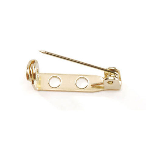 Safety Catch Pin Gold  or Silver 144 pc package - product image