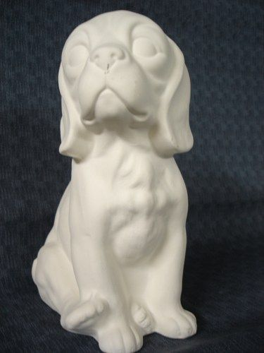 Beagle Unpainted Ceramic Bisque Ready to Finish - product images