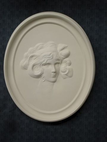 Cameo,Ready,To,Paint,Ceramic,Bisque,1920's,Lady,ceramic bisque,ready to paint,ceramics, bisque,kg krafts,cameo,1920's lady