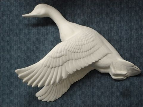 Flying,Mallard,Duck,Ready,to,Paint,Ceramic,Bisque,ceramic bisque,ready to paint,ceramics, bisque,kg krafts,mallard,duck