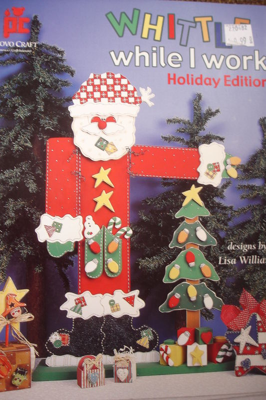 Whittle While I Work Holiday Edition by Lisa Williams - product image