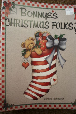 Bonnie's,Christmas,Folks,3,by,Bonnie,Isenhower,bonnie's christmas folks 3,bonnie isenhower,kg krafts,decorative painting,christmas,folk,primitive,painting