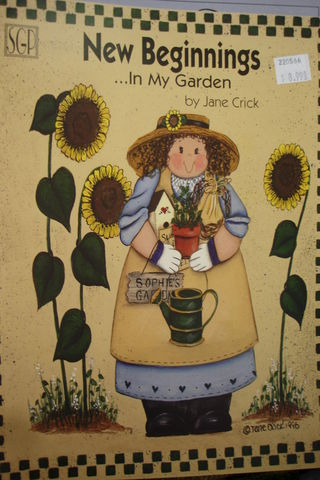 New,Beginnings,in,My,Garden,by,Jane,Crick,new beginnings in my garden,jane crick,kg krafts,decorative painting,painting