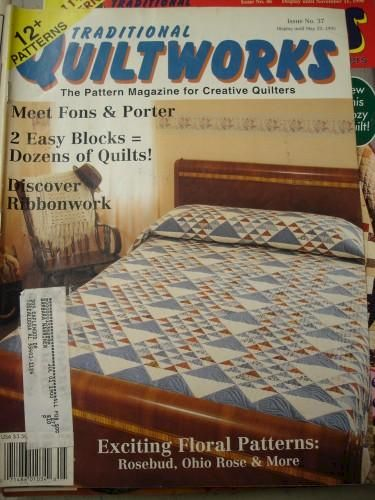 Traditional Quiltworks issue no 37  1995 12 patterns for Quilters - product images