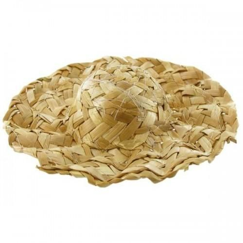 6 inch Wavy Brim Straw Hat for the best Dressed Doll - product images