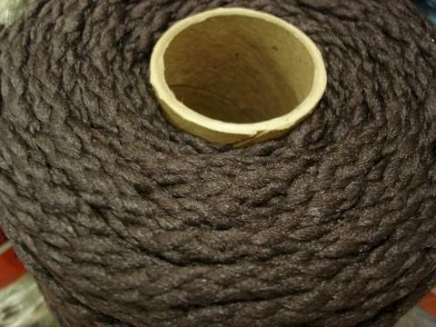 6mm,Macrame,Cord,Dk,Brown,100,yd,spool,macrame cord, 6mm macrame cord, plant hangers, chairs, kg krafts,craft supplies, macrame supplies