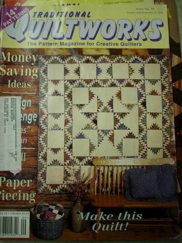 Traditional Quiltworks Magazine for Creativer Quilters no 39  1995 - product images
