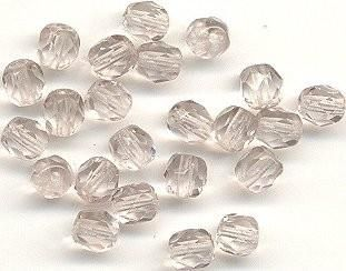 5mm Fire Polished Bead - Light Amethyst 100 pcs - product images
