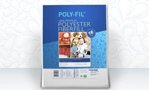 Poly-Fil,from,Fairfield,Corporation,Premium,Polyester,Fiberfill,12oz,Poly-Fil , Fairfield Corporation,  12 oz Premium Polyester , Fiberfill, pillows, toys, kg krafts, supplies, craft supplies, , polyester, 12oz, white, Any Age, Unisex