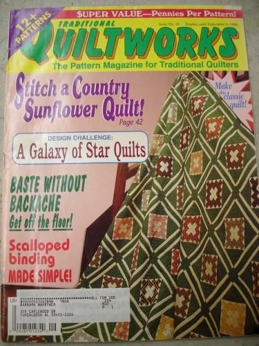 Traditional Quiltworks for traditional Quilters  issue no 45  1996 - product images