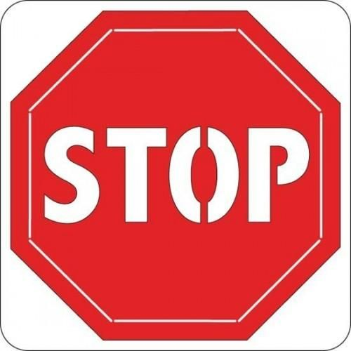 Cuttlebug Die 2X2  STOP SIGN - product images