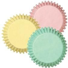 Pastel,Baking,Cups,from,Wilton,Standard,size,wilton, mini baking cups, pastels,kg krafts,baking supplies