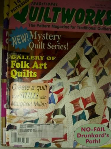 Quiltworks for Traditional Quilters    issue 43   May 1996 - product images