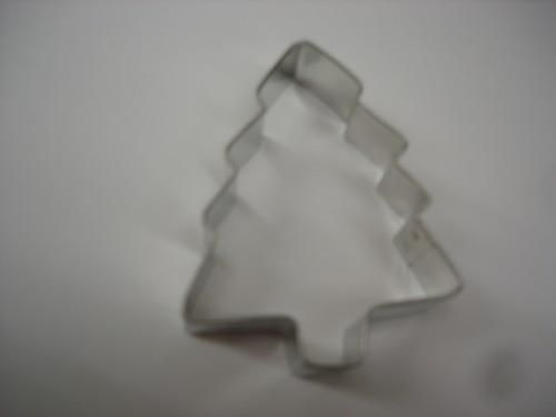 Pine Tree Metal Cookie Cutter three inch - product images