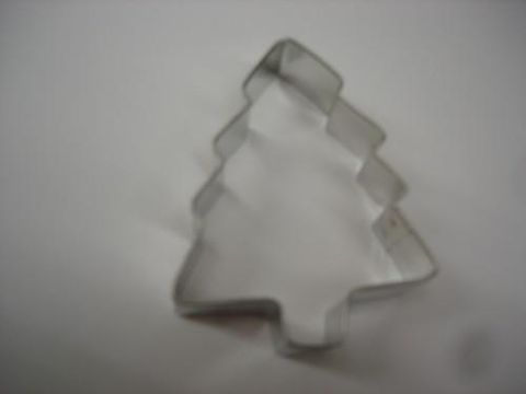 Pine,Tree,Metal,Cookie,Cutter,three,inch,Pine Tree, Metal , Cookie Cutter, three inch, christmas,kg krafts,cookies,baking supplies,kitchen