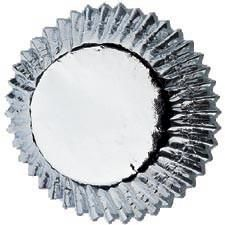 Wilton,Silver,Baking,Cups,Standard,Size,silver foil, mini baking cups, wilton, kg krafts,baking supplies